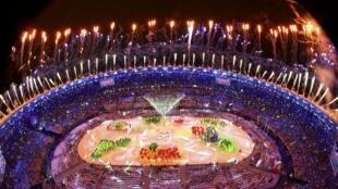 Cerimônia de encerramento dos Jogos do Rio 2016.