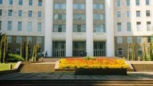 Trụ sở Quốc Hội Moldova.