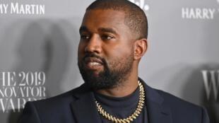 Mawaki kuma dan takarar shugabancin kasar Amurka Kanye West da zai fafata da Donald Trump a zaben watan Nuwamba mai zuwa.