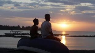 Indonésie - Lombok - Ile - Population - AP18222383982326