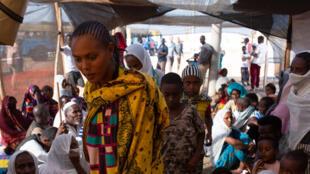 Soudan - frontière Ethiopie - camp de réfugiés de Hamdayet