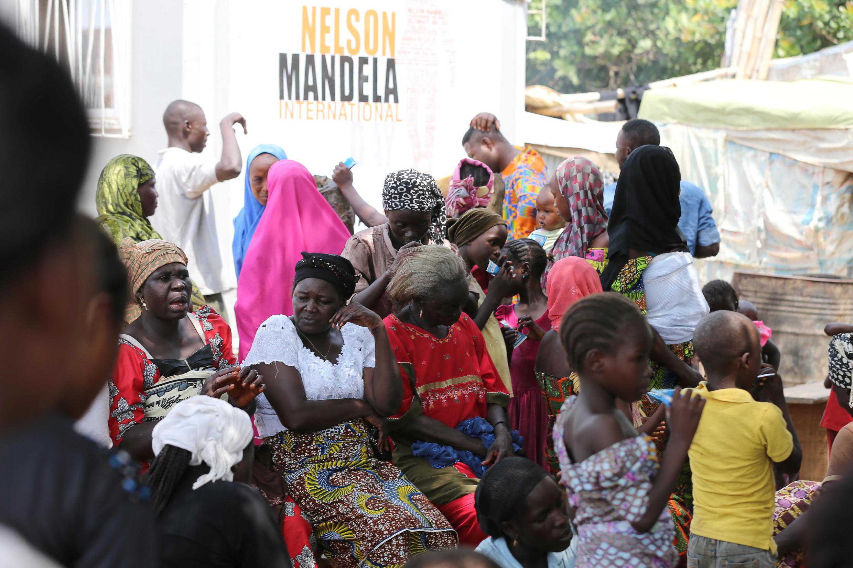 Wanawake mjini Abuja, nchini Nigeria.