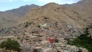 La ville d'Akré, dans le Kurdistan irakien, accueille de nombreux réfugiés kurdes syriens.