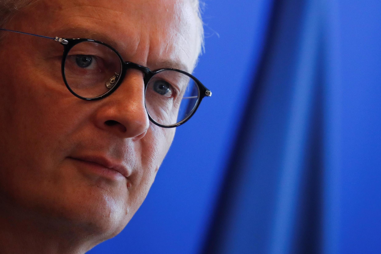 Finance minister Bruno Le Maire, 19 September 2019.