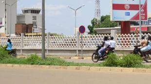 L'aéroport de Ouagadougou, d'où est parti l'avion Air Algérie qui s'est écrasé jeudi dansle nord du Mali.