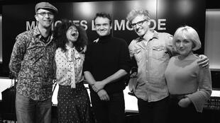 Inor Sotolongo, Yilian Canizares, Stéphane Kerecki, Skygge et Kyrie Kristmanson, à RFI.