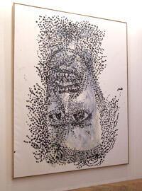 « Noir et blanc blond clair » (2006).