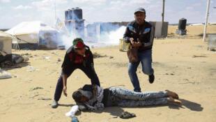巴以在加沙与以色列交界地区的冲突不断