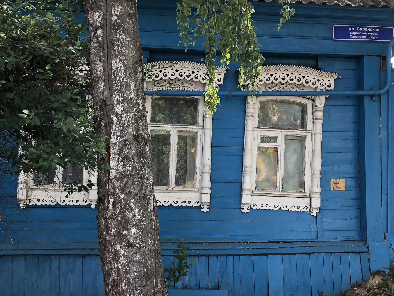 Улица Саранская. Саранск, Мордовия. 2018 г.