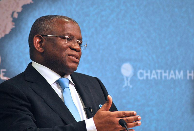 Georges Rebelo Pinto Chikoti, ministre angolais des Relations extérieures.