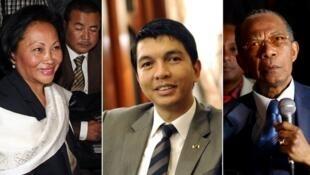 Lalao Ravalomanana et Andry Rajoelina.