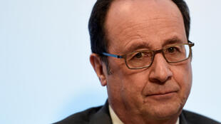 Tổng thống Pháp François Hollande. Ảnh ngày 23/02/2017, tại Paris.