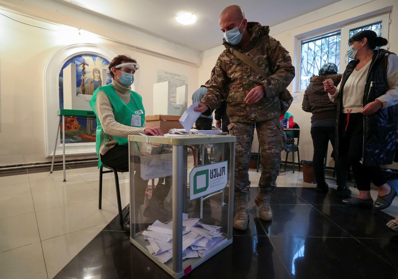 Les élections municipales en Géorgie