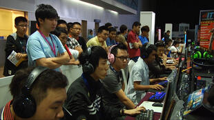 During World Cyber Games 2012 in China