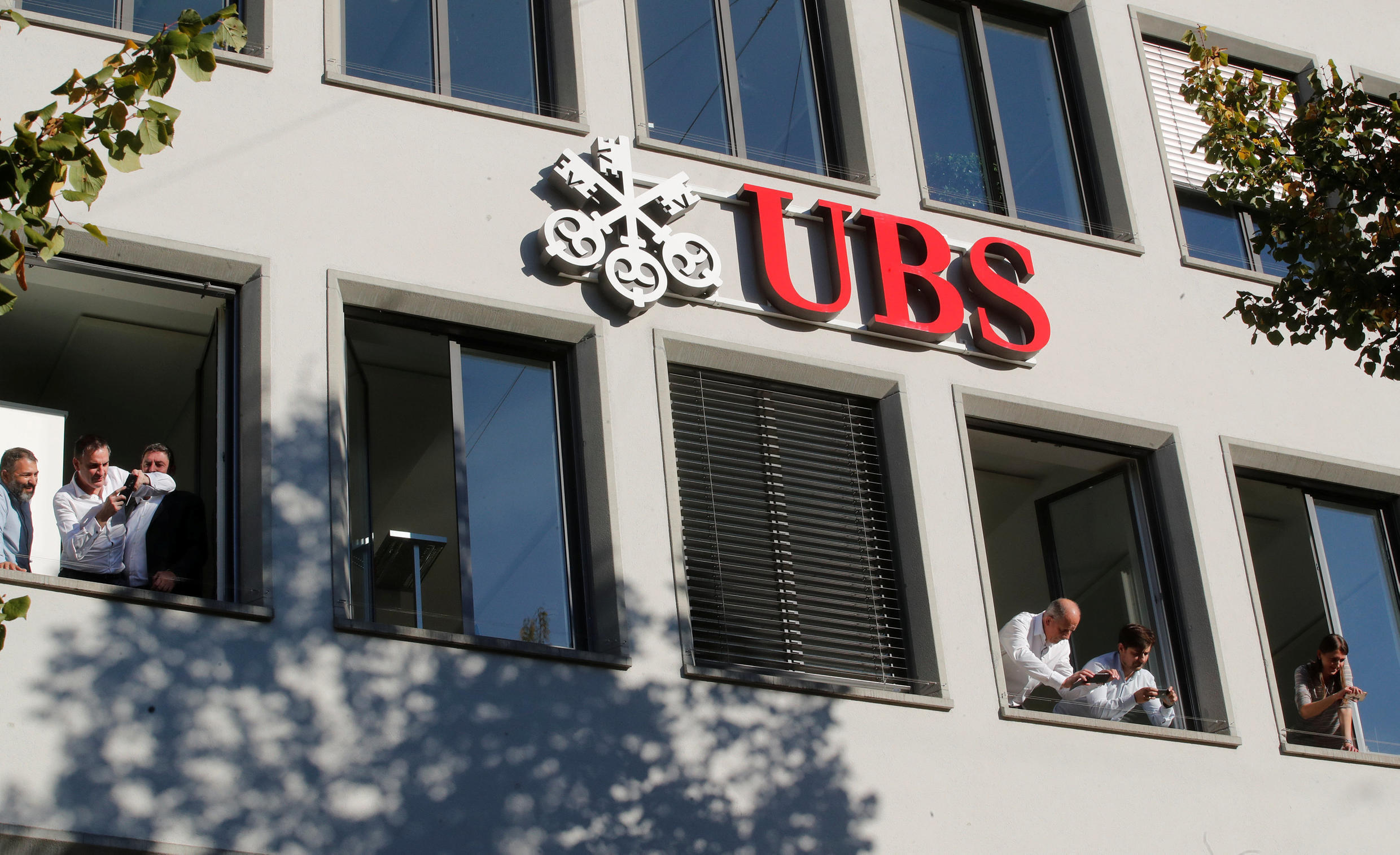 A file photo of UBS's headquarters in Zurich