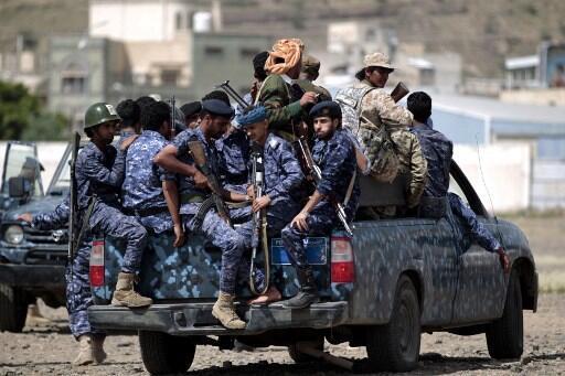 Un convoi de la police yéménite dans les rues de Sanaa.(Illustration).