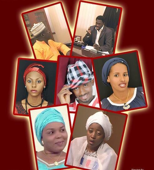Wasu taurarin Fina finan Hausa
