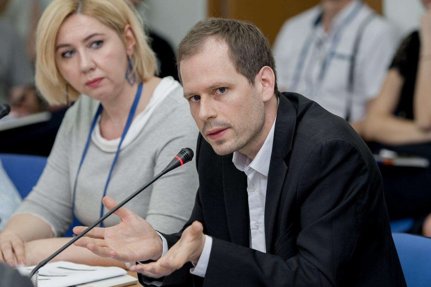 Глава отдела стран Восточной Европы и Центральной Азии в «Репортерах без границ» Йоханн Бир