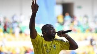 Le chanteur nigérian Davido.