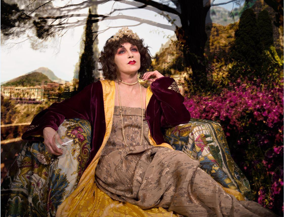 """Photograph by American artist Cindy Sherman """"Untitled #582 2016, on display at the Fondation Louis Vuitton, Paris, 23 September 2020- 3 January 2021, courtesy of the artist."""