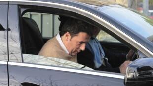 O chefe du Partido democrata e presidente da câmara municipal de Florença, Matteo Renzi a 16 de fevereiro 2014.