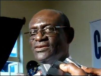 Une capture d'écran de Me Zeus Adjavon, coordonateur du collectif d'associations et de partis politiques baptisé « Collectif Sauvons le Togo ».