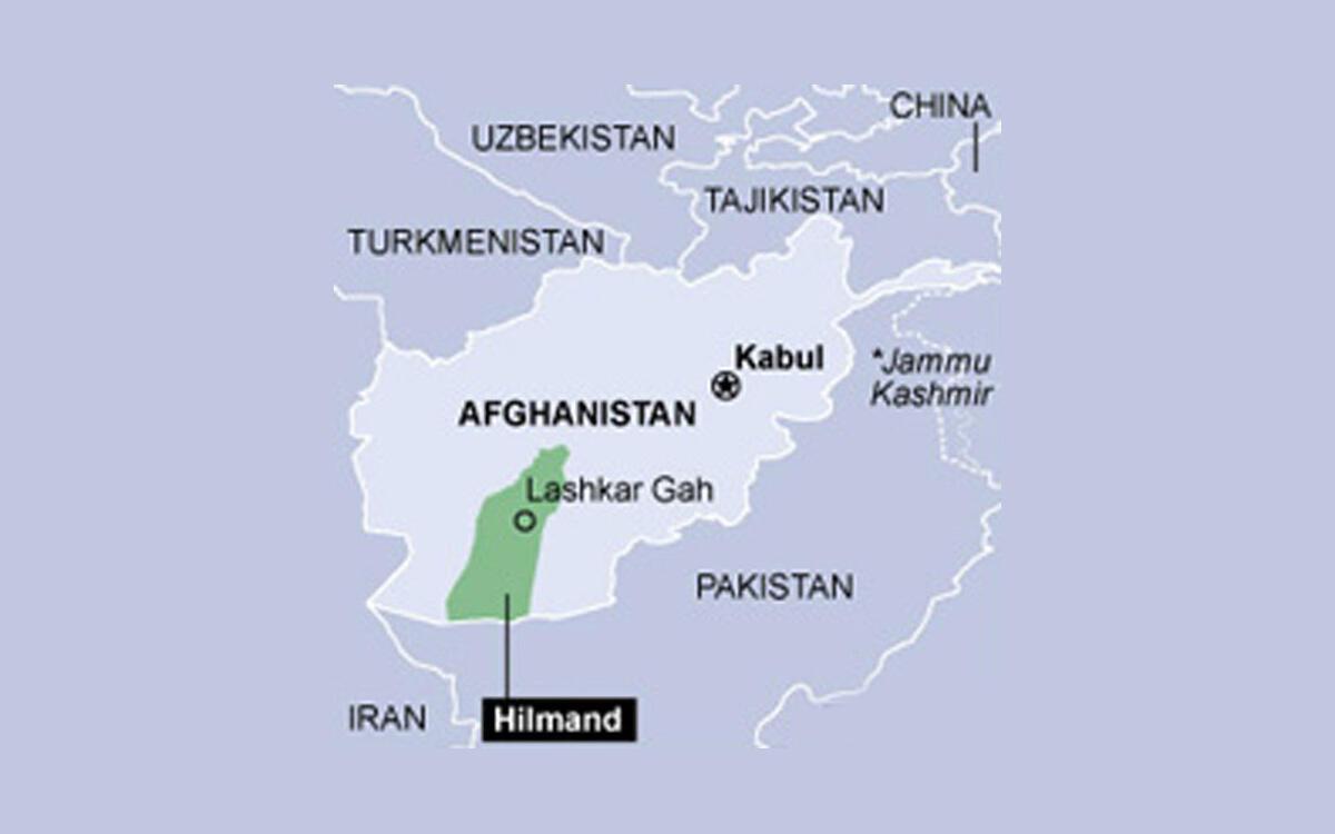 هلمند در جنوب افغانستان، یکی از ولایتهای ناامن این کشور به شمار میرود و طالبان نیز در بخشهای زیادی از آن نفوذ دارند