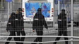 Полицейский патруль в Адлере 16/01/2014