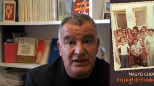 Magyd Cherfi, est publié chez Actes Sud pour son livre <i>Ma part de gaulois.</i>