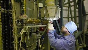Строительство спутника системы ГЛОНАСС