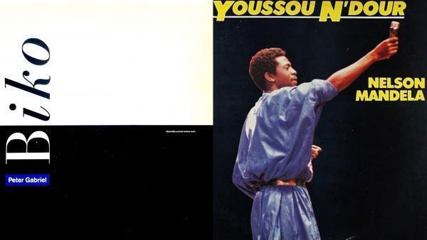 «Biko», Peter Gabriel © Mercury/Charisma et «Nelson Mandela», Youssou N'Dour © Magnetic Records.