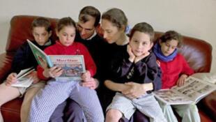 Cerca de 71% das crianças francesas ainda fazem parte de uma família tradicional