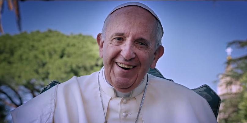 El Papa Francisco es el protagonista del documental de Win Wenders.