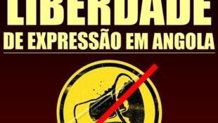 Cartaz manifestação 2 Abril Luanda pela liberdade de expressão