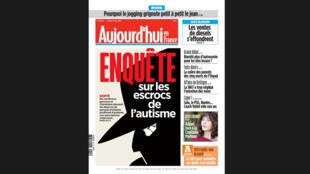 O jornal Aujourd'hui en France destaca o aumento de charlatães que atuam no mercado oferecendo terapias alternativas para o autismo.