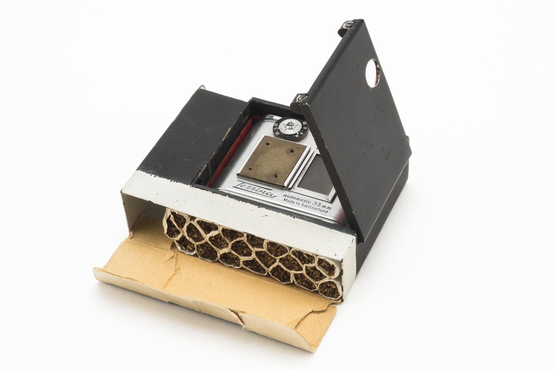 Мини-фотоаппарат в коробке для сигарет, период холодной войны