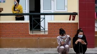 Virus corona : Cảnh những người đang bị cách ly tại Lạng Sơn, Việt Nam, ngày 20/02/2020.
