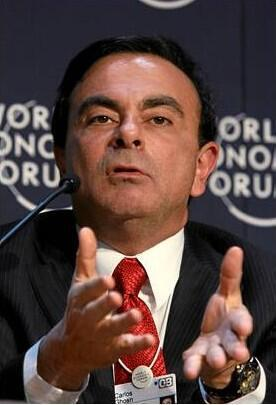 Carlos Ghosn, President and Chief Executive Officer of Renault, January 2008