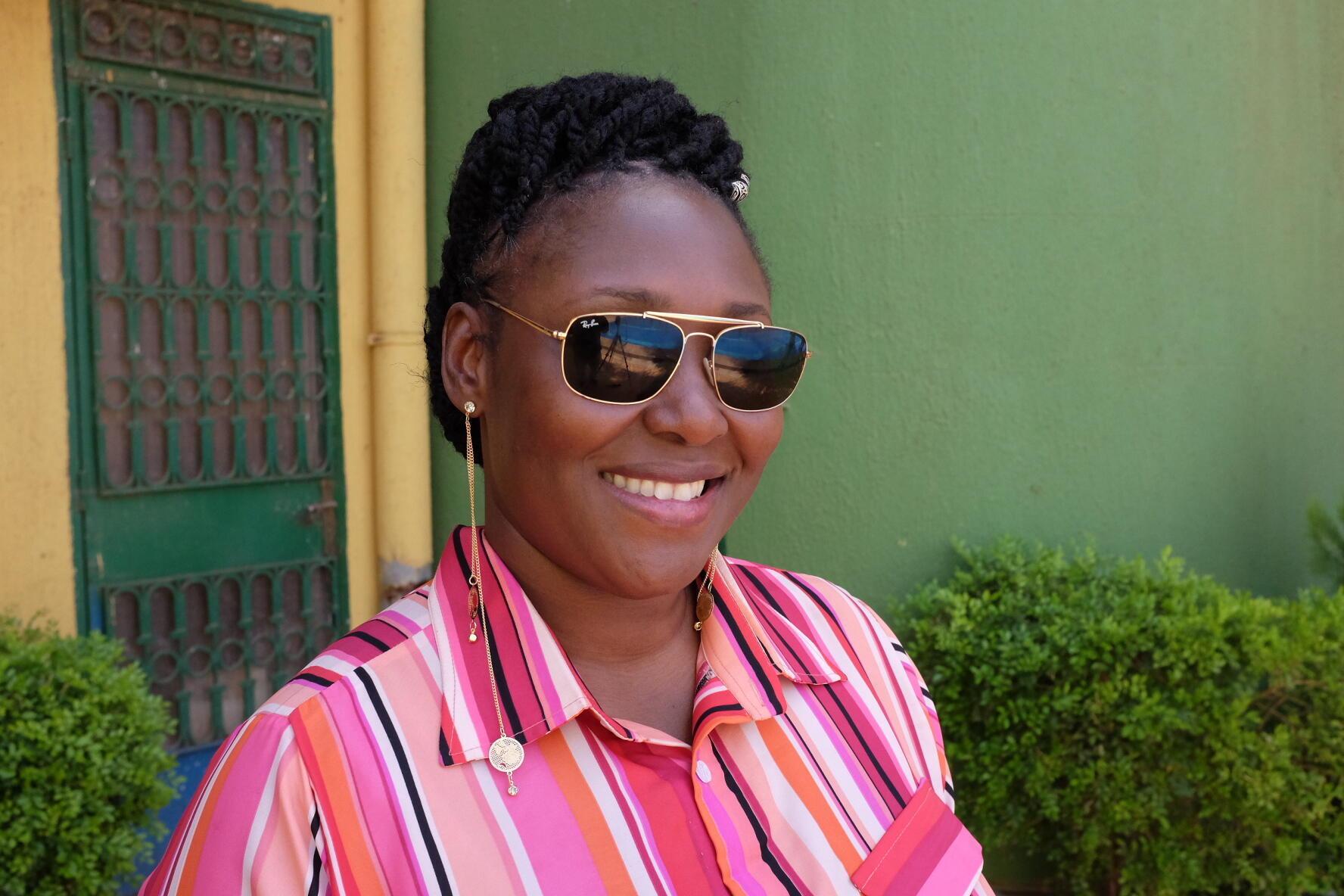 La réalisatrice burkinabè Apolline Traoré présente «Desrances», en lice pour l'Etalon d'or de Yennenga du Fespaco 2019.
