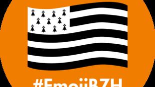 L'«emoji» du drapeau breton peut s'utiliser sur Twitter jusqu'au 9 février avec le mot clé #EmojiBZH.