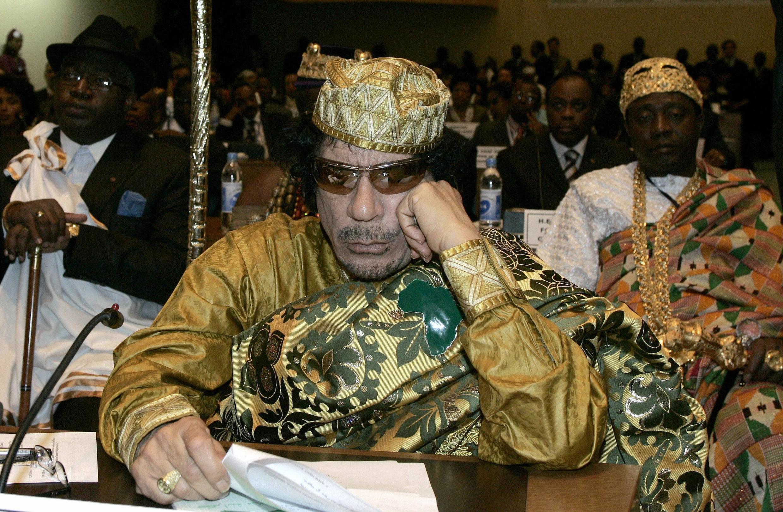 Муаммар Каддафи 02 февраля 2009 (архив)