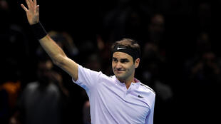 Roger Federer missed last year's end of season tournament through injury.