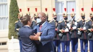 France - Elysée - RDC - Félix Tshisekedi - Emmanuel Macron 4
