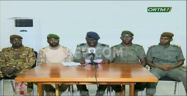 نظامیان شورشی در مالی به نام «کمیتۀ  ملی برای نجات مردم» اعلام کردند که هدف آنان تدارک یک «گذار سیاسی غیرنظامی» برای برگزاری انتخابات در یک «مهلت منطقی» است ـ ١٩ اوت ٢٠٢٠