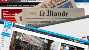 Plusieurs médias français ont décidé de ne plus publier des photos des terroristes.
