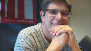 Javier Perianes en RFI.