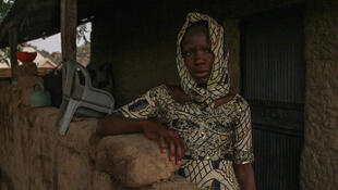 The girl, Lydia Pogu, escaped from Boko Haram abductors by jumping off the truck, now she is too scared to go back to school