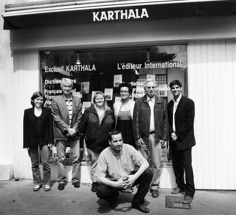 Une petite équipe de 8 salariés fait tourner la maison Karthala.