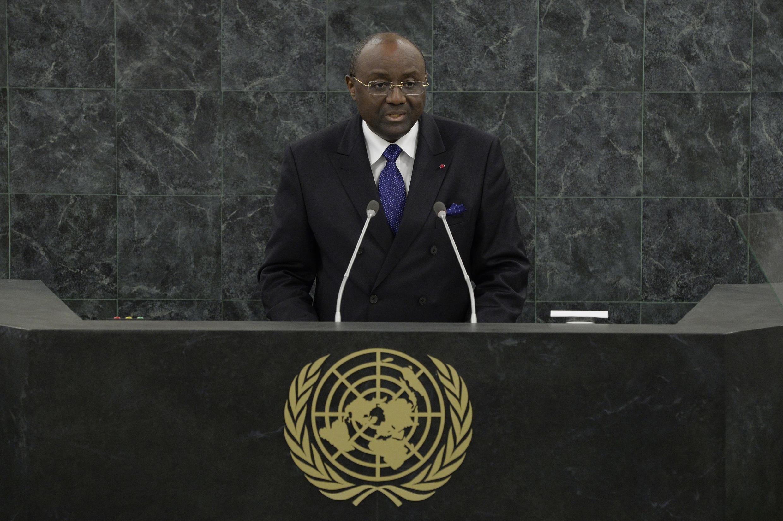 Pierre Moukoko Mbonjo, ministre camerounais des Affaires étrangères.