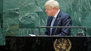 British PM Boris Johnson leaves the United Nations General Assembly early to return home to face parliament.